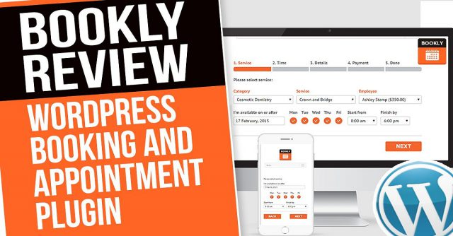 Bookly PRO Appointment Scheduling Plugin Software System